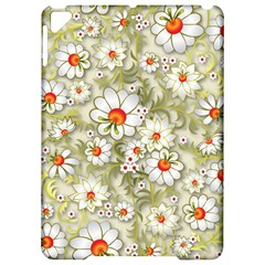 Beautiful White Flower Pattern Apple iPad Pro 9.7   Hardshell Case