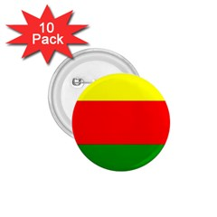 Kurdistan Kurd Kurds Kurdish Flag 1 75  Buttons (10 Pack)