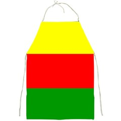 Kurdistan Kurd Kurds Kurdish Flag Full Print Aprons