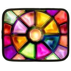 Glass Colorful Stained Glass Netbook Case (xl)