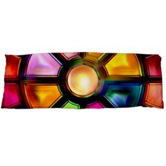 Glass Colorful Stained Glass Body Pillow Case Dakimakura (two Sides)