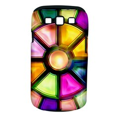 Glass Colorful Stained Glass Samsung Galaxy S Iii Classic Hardshell Case (pc+silicone)