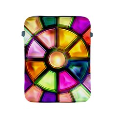 Glass Colorful Stained Glass Apple Ipad 2/3/4 Protective Soft Cases