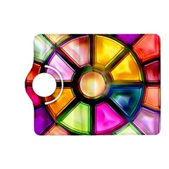 Glass Colorful Stained Glass Kindle Fire Hd (2013) Flip 360 Case