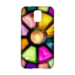 Glass Colorful Stained Glass Samsung Galaxy S5 Hardshell Case