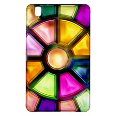 Glass Colorful Stained Glass Samsung Galaxy Tab Pro 8 4 Hardshell Case