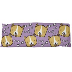 Corgi Pattern Body Pillow Case Dakimakura (two Sides)