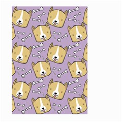 Corgi Pattern Large Garden Flag (two Sides)