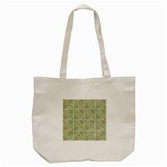Hamster Pattern Tote Bag (cream)