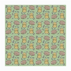 Hamster Pattern Medium Glasses Cloth