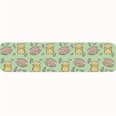Hamster Pattern Large Bar Mats