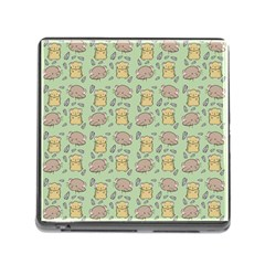 Hamster Pattern Memory Card Reader (square)