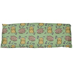 Hamster Pattern Body Pillow Case Dakimakura (two Sides)