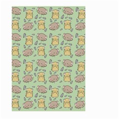 Hamster Pattern Large Garden Flag (two Sides)