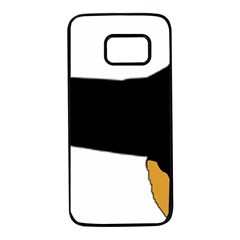 Hovawart Silo Color Samsung Galaxy S7 Black Seamless Case