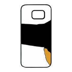 Hovawart Silo Color Samsung Galaxy S7 edge Black Seamless Case