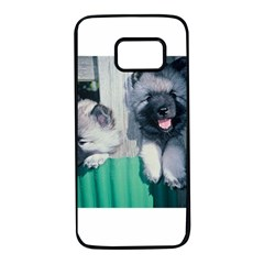 Kesshond Pups Samsung Galaxy S7 Black Seamless Case
