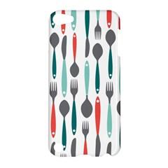 Spoon Fork Knife Pattern Apple Ipod Touch 5 Hardshell Case