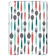 Spoon Fork Knife Pattern Apple iPad Pro 9.7   Hardshell Case