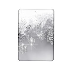 New Year Holiday Snowflakes Tree Branches Ipad Mini 2 Hardshell Cases