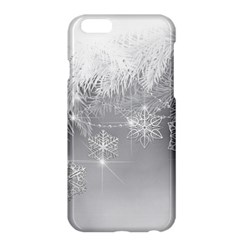 New Year Holiday Snowflakes Tree Branches Apple Iphone 6 Plus/6s Plus Hardshell Case