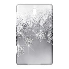 New Year Holiday Snowflakes Tree Branches Samsung Galaxy Tab S (8 4 ) Hardshell Case
