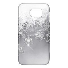 New Year Holiday Snowflakes Tree Branches Galaxy S6