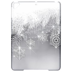 New Year Holiday Snowflakes Tree Branches Apple iPad Pro 9.7   Hardshell Case