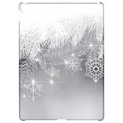 New Year Holiday Snowflakes Tree Branches Apple iPad Pro 12.9   Hardshell Case