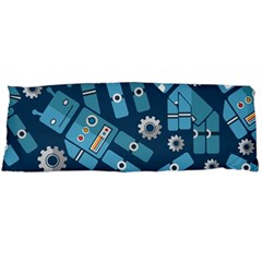 Seamless Pattern Robot Body Pillow Case Dakimakura (two Sides)