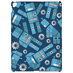 Seamless Pattern Robot Apple iPad Pro 12.9   Hardshell Case