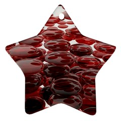 Red Lentils Star Ornament (two Sides)