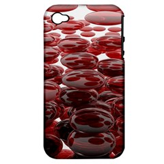 Red Lentils Apple Iphone 4/4s Hardshell Case (pc+silicone)