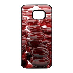 Red Lentils Samsung Galaxy S7 edge Black Seamless Case