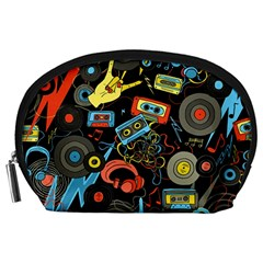 Music Pattern Accessory Pouches (large)