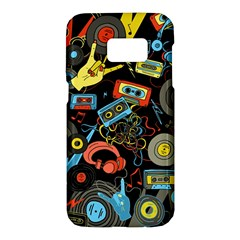 Music Pattern Samsung Galaxy S7 Hardshell Case