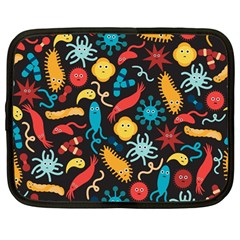 Virus Pattern Netbook Case (large)
