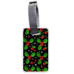 Xmas magical pattern Luggage Tags (One Side)