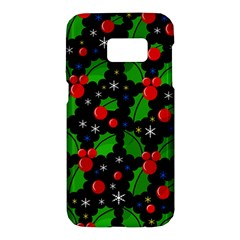 Xmas magical pattern Samsung Galaxy S7 Hardshell Case