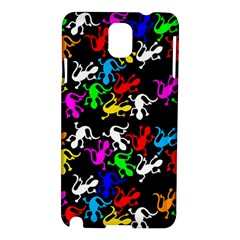 Colorful Lizards Pattern Samsung Galaxy Note 3 N9005 Hardshell Case