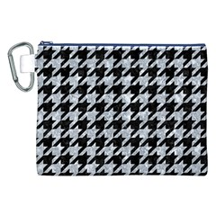 HTH1 BK-GY MARBLE Canvas Cosmetic Bag (XXL)