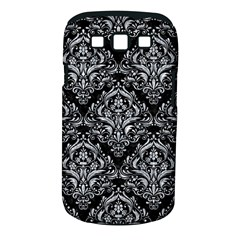 Damask1 Black Marble & Gray Marble Samsung Galaxy S Iii Classic Hardshell Case (pc+silicone)