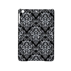 Damask1 Black Marble & Gray Marble Apple Ipad Mini 2 Hardshell Case