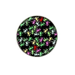 Playful Lizards Pattern Hat Clip Ball Marker (10 Pack)