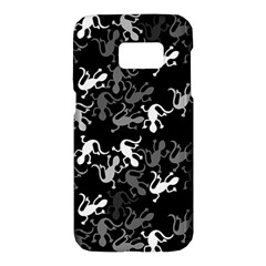 Gray lizards Samsung Galaxy S7 Hardshell Case
