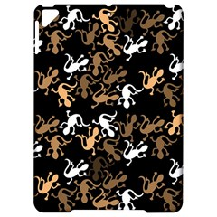 Brown lizards pattern Apple iPad Pro 9.7   Hardshell Case