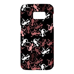 Decorative lizards pattern Samsung Galaxy S7 Hardshell Case