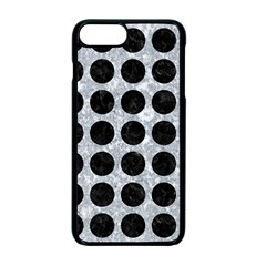 Circles1 Black Marble & Gray Marble (r) Apple Iphone 7 Plus Seamless Case (black)