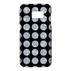 Circles1 Black Marble & Gray Marble Samsung Galaxy S7 Hardshell Case
