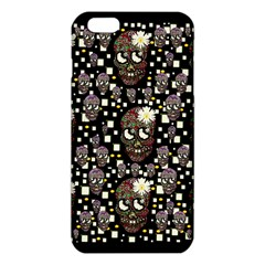 Floral Skulls With Sugar On Iphone 6 Plus/6s Plus Tpu Case